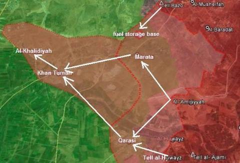 Tổng quan chiến dịch giải phóng Tây Aleppo, vây hãm Idlib  - Ảnh 5.