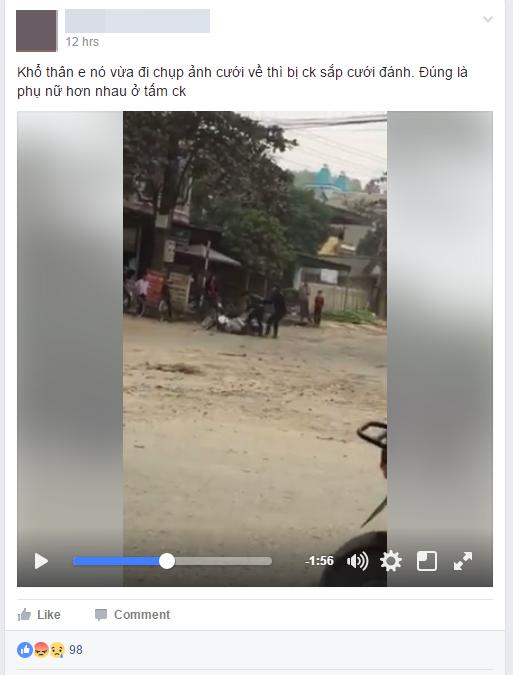 Cô gái bị người yêu đánh đập giữa đường sau khi chụp ảnh cưới về - Ảnh 1.