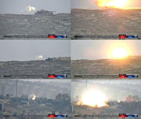 Quân Thổ Nhĩ Kỳ lĩnh đòn đau ở Syria  - Ảnh 1.