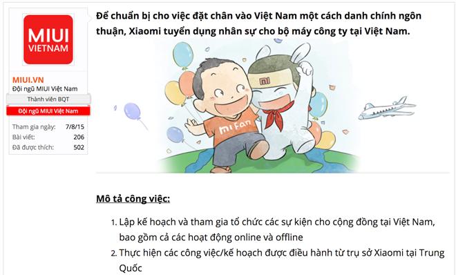 Xiaomi tuyển dụng, chuẩn bị đổ bộ Việt Nam cùng Nokia? - Ảnh 1.