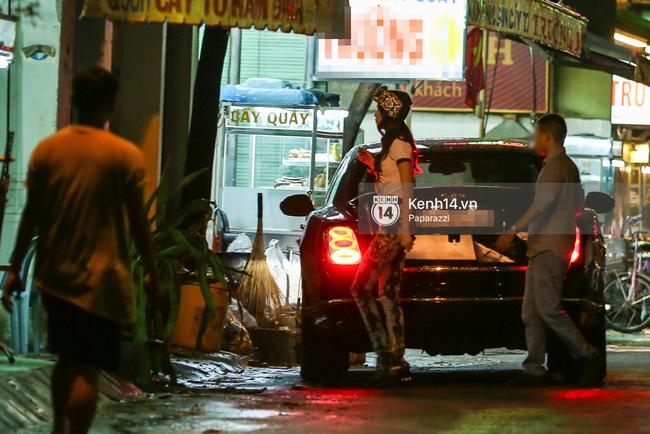 Hồ Ngọc Hà bị bắt gặp lái xe của đại gia Chu Đăng Khoa đi dự sự kiện - Ảnh 11.