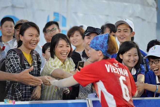 Cầu mây nữ Việt Nam hạ Trung Quốc sau 40 phút - ảnh 15