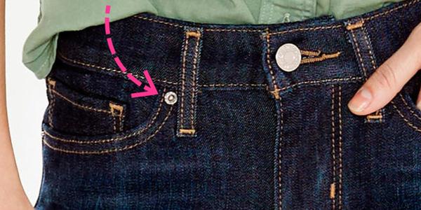 Không phải ai cũng biết câu chuyện về nguồn gốc những chiếc khuy nhỏ trên quần jean - Ảnh 2.