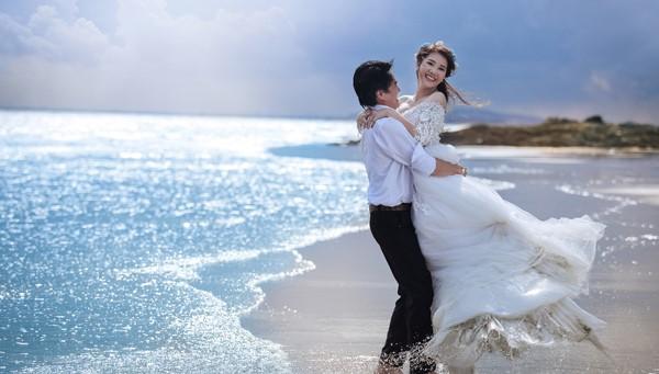 Ảnh cưới lãng mạn của diễn viên Cao Minh Đạt - Ảnh 3.