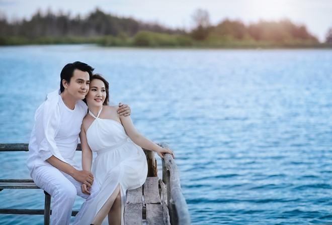 Ảnh cưới lãng mạn của diễn viên Cao Minh Đạt - Ảnh 4.