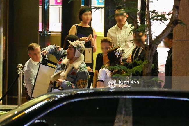 Hồ Ngọc Hà bị bắt gặp lái xe của đại gia Chu Đăng Khoa đi dự sự kiện - Ảnh 4.