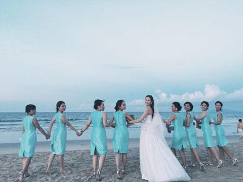 Ảnh cưới đẹp như mơ của MC thời tiết đẹp nhất VTV - Ảnh 4.