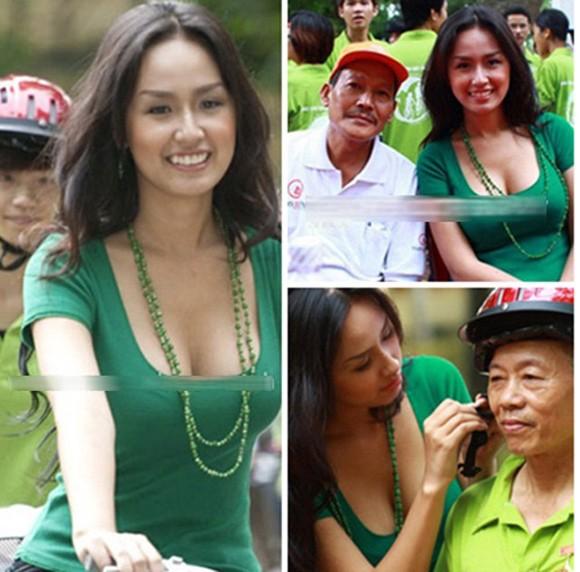 Hoa hậu Mỹ Linh, em nghĩ gì mà mặc thế đi từ thiện? - Ảnh 3.
