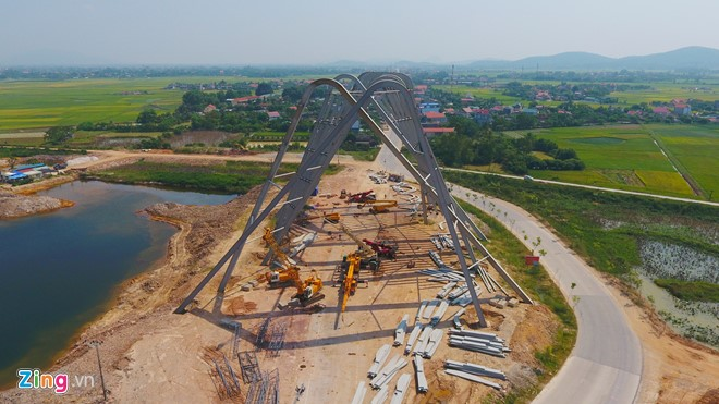 Cổng chào Quảng Ninh hoành tráng nhất Việt Nam - Ảnh 4.