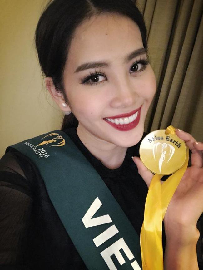 Sau hai lần về nhì, Nam Em vươn lên giành một huy chương vàng tại Miss Earth 2016 - Ảnh 5.