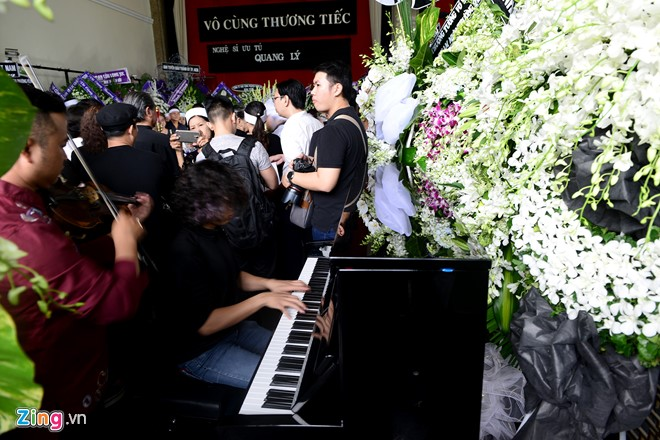 NSƯT Quang Lý được tiễn đưa trong giai điệu Thuyền và biển - Ảnh 5.