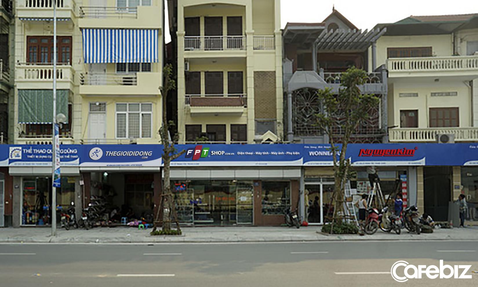 Ngắm Bảng Hiệu Thế Giới Di động Fpt Shop Nguyễn Kim được
