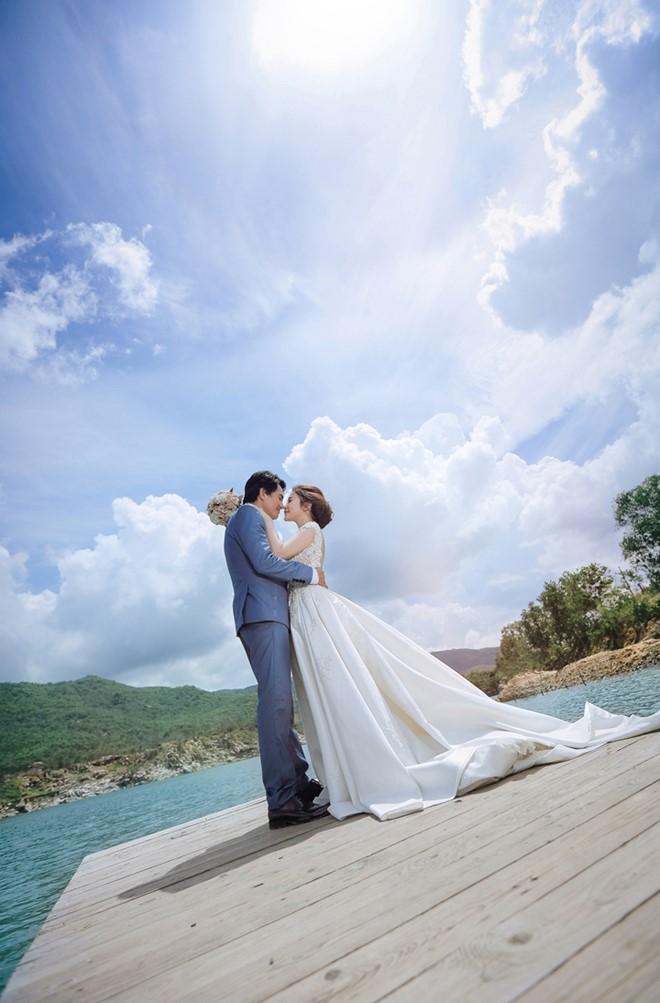 Ảnh cưới lãng mạn của diễn viên Cao Minh Đạt - Ảnh 6.