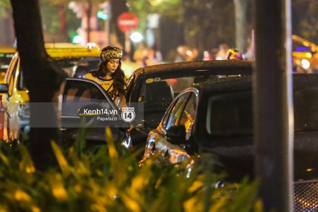 Hồ Ngọc Hà bị bắt gặp lái xe của đại gia Chu Đăng Khoa đi dự sự kiện - Ảnh 6.