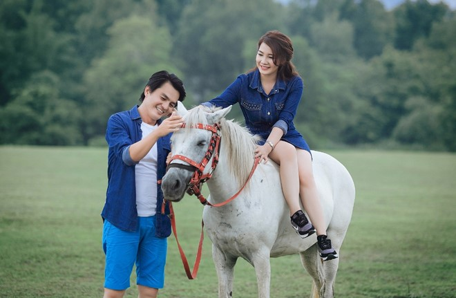 Ảnh cưới lãng mạn của diễn viên Cao Minh Đạt - Ảnh 8.