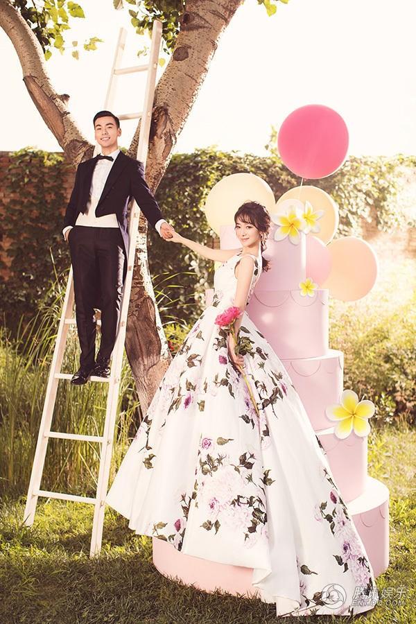 Giai nhân Anh hùng xạ điêu bất ngờ tung ảnh cưới - Ảnh 8.