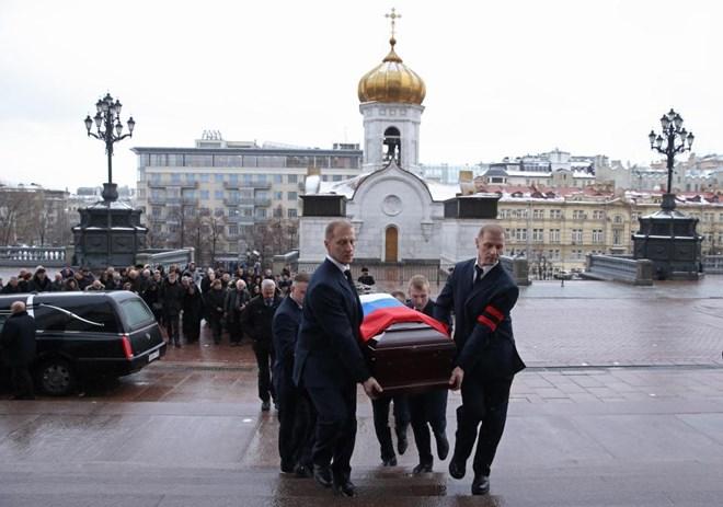 [Photo] Tổng thống Putin và lãnh đạo Nga tiễn biệt Đại sứ Karlov - Ảnh 8.