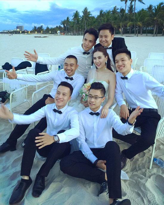Ảnh cưới đẹp như mơ của MC thời tiết đẹp nhất VTV - Ảnh 8.