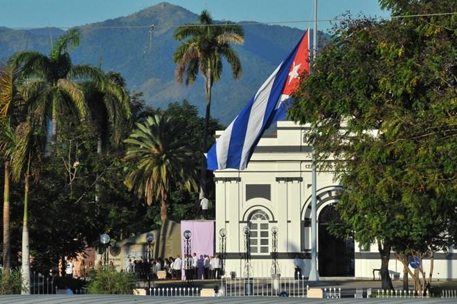 Hình ảnh lễ an táng tro cốt của lãnh tụ Cuba Fidel Castro Ruz  - Ảnh 9.