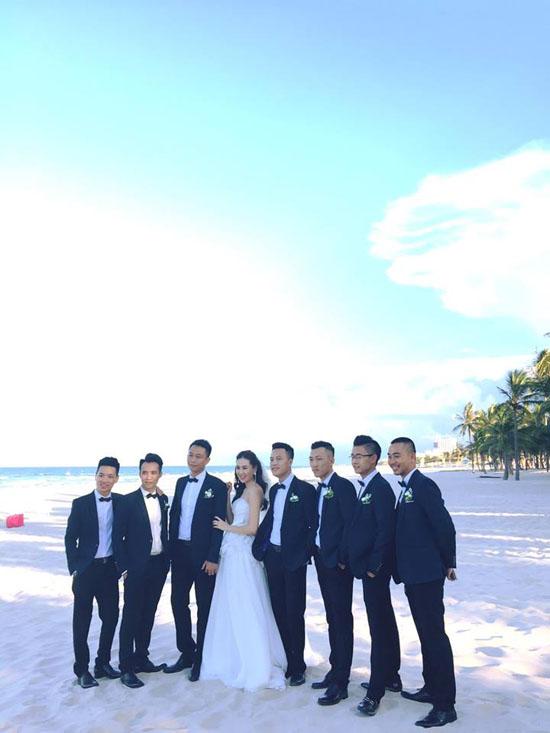 Ảnh cưới đẹp như mơ của MC thời tiết đẹp nhất VTV - Ảnh 9.