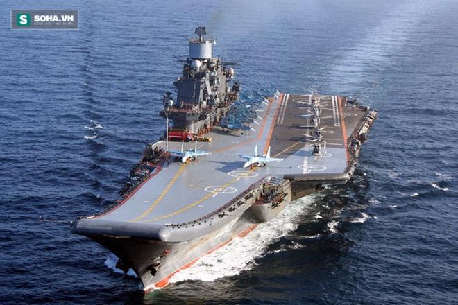 Những uẩn khúc trong tuyên bố Nga điều tàu sân bay tới Syria - Ảnh 1.
