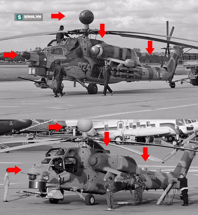 Hình hài kỳ dị nhưng có thật của phiên bản trực thăng Mi-28NM - Ảnh 1.