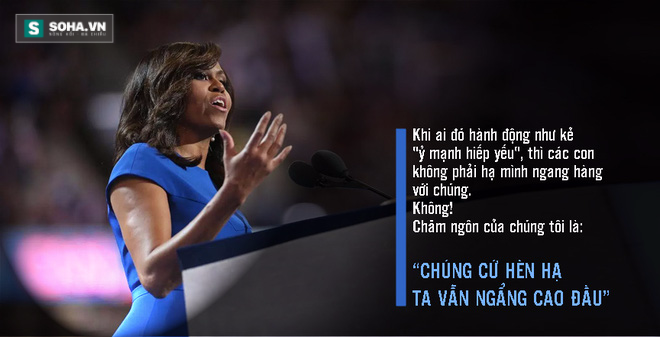Toàn văn phát biểu của bà Obama tại đại hội đảng Dân chủ - Ảnh 3.