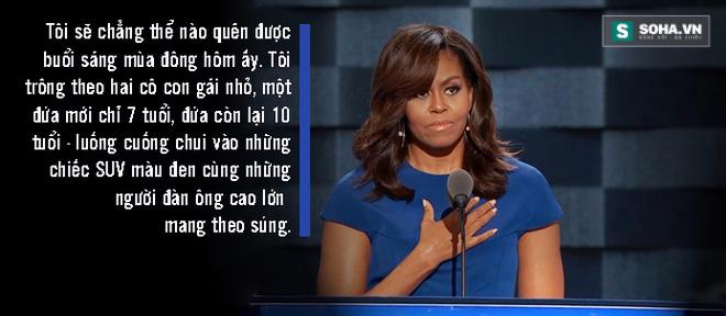 Toàn văn phát biểu của bà Obama tại đại hội đảng Dân chủ - Ảnh 2.
