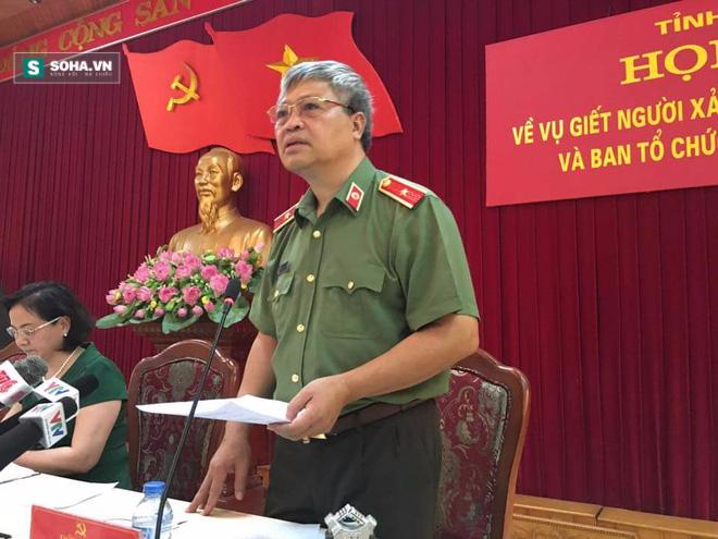 Họp báo vụ Bí thư và Chủ tịch HĐND tỉnh Yên Bái bị bắn chết - Ảnh 2.
