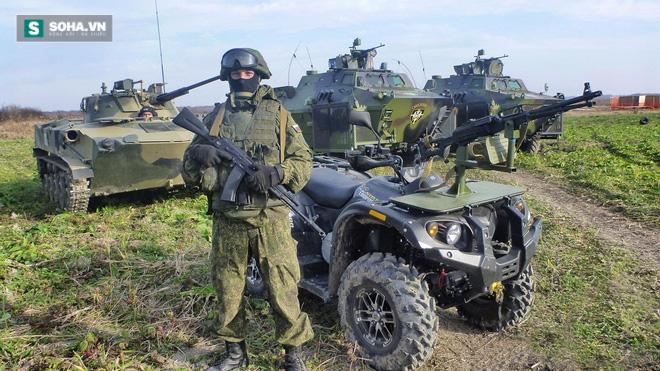 Món đồ chơi thú vị của Lính dù Nga - Ảnh 1.