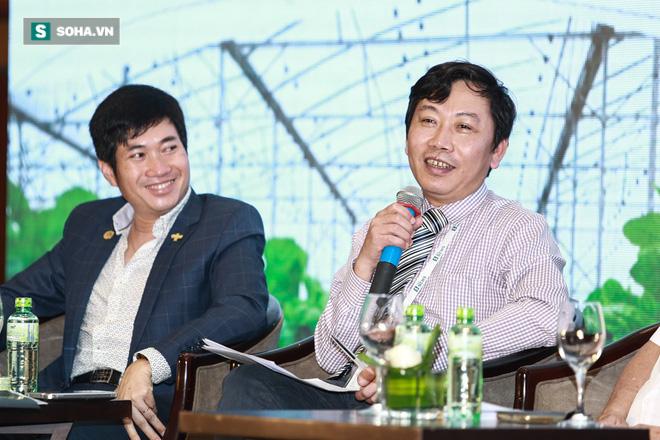 Hội thảo Đón sóng thực phẩm sạch: Ca sĩ Mỹ Linh trực tiếp chất vấn ông Đoàn Văn Vươn - Ảnh 1.