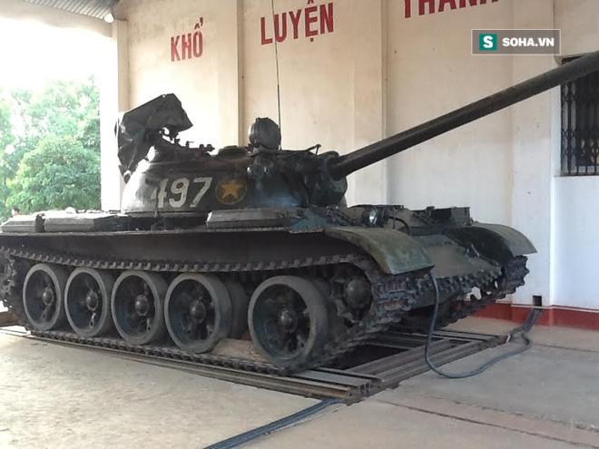 Sáng chế độc đáo: Xe tăng không chạy vẫn có Hành tiến bắn - Ảnh 1.