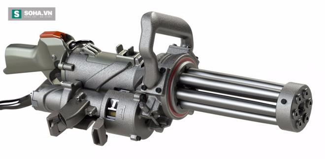 XM556 - Súng máy cầm tay nhỏ gọn nhất thế giới - Ảnh 2.