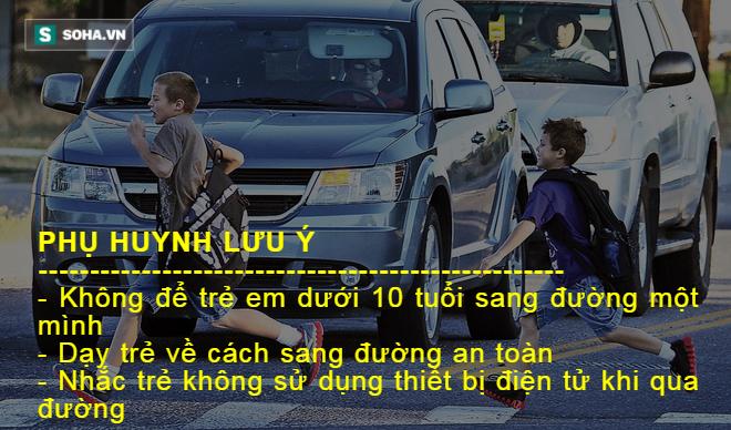 Chứng kiến con bị ô tô đâm khi qua đường, bà mẹ trẻ ôm hận cả đời - Ảnh 6.