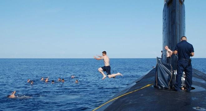 Cuộc sống như đi resort của thủy thủ tàu ngầm Mỹ - Ảnh 14.