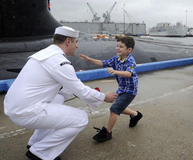 Cuộc sống như đi resort của thủy thủ tàu ngầm Mỹ - Ảnh 25.