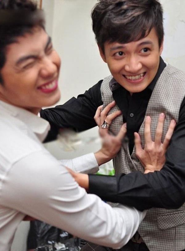 Hành động phì cười của Noo Phước Thịnh khi gặp trai đẹp Việt - Ảnh 5.