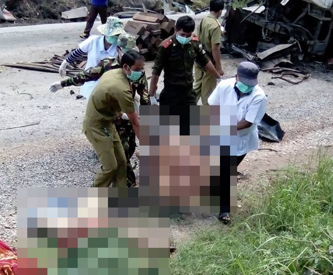 11 gia đình kéo nhau đi kiện chủ xe trong vụ nổ xe khách Khánh Đơn ở Lào - Ảnh 5.