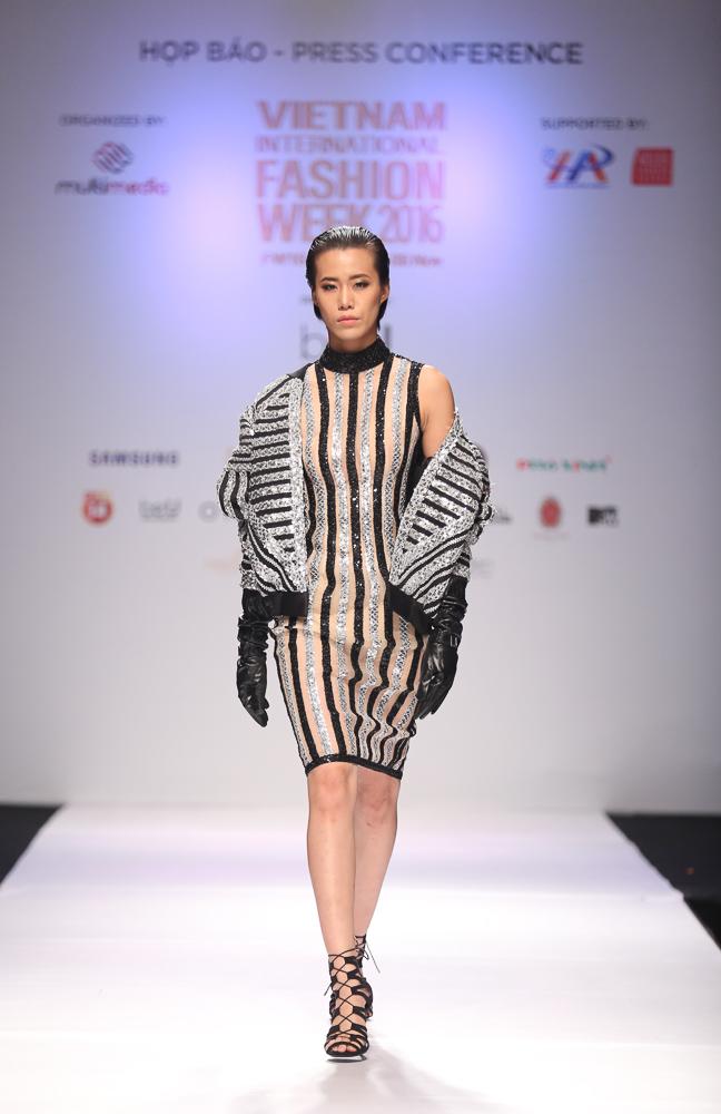 Ngọc Châu được lựa chọn mở màn Tuần lễ thời trang quốc tế - Ảnh 6.