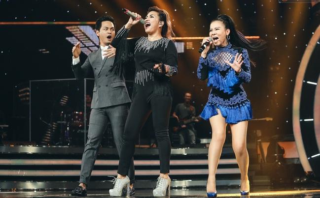 Vietnam Idol: MC Phan Anh trố mắt trước hành động lạ của Thu Minh - Ảnh 10.