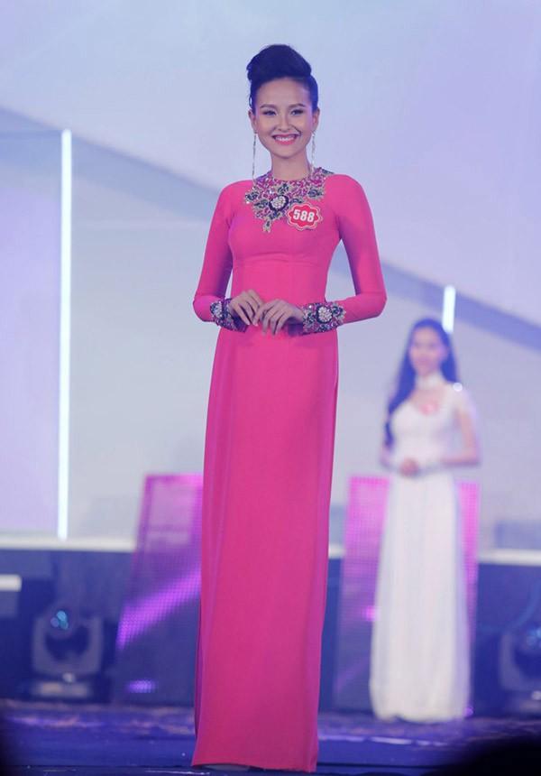 Có gương mặt đẹp song sự non nớt khiến Khánh Ngân thất bại ngay ở lần thi thố đầu tiên. Cô chỉ dừng lại ở Top 40.