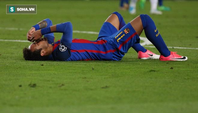 Neymar khóc không dừng được, đối thủ cũng phải ra an ủi - Ảnh 1.