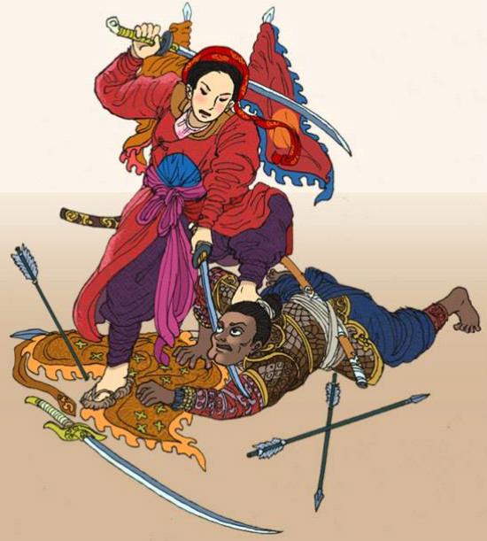 Mối tình hiếm có giữa nữ tướng giả trai và khai quốc công thần nhà Hậu Lê - Ảnh 2.