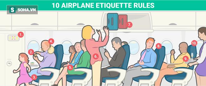 10 phép lịch sự tối thiểu trên máy bay mà ai cũng nên biết - Ảnh 1.