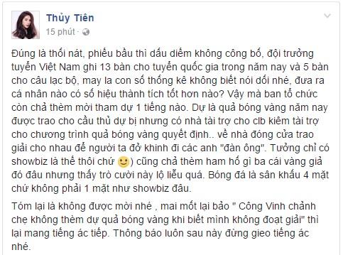 Bức xúc trào dâng, Thủy Tiên dùng từ thối nát để ám chỉ QBV Việt Nam - Ảnh 1.