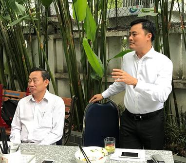 Cafe sáng định kỳ với Giám đốc Sở GTVT TP Hồ Chí Minh - Ảnh 1.