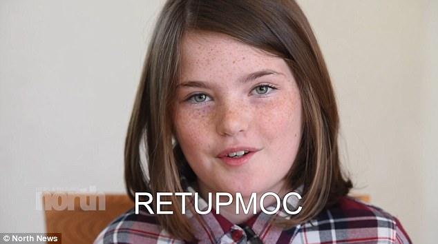 Hiếm gặp: Bé gái 10 tuổi có khả năng đọc ngược từ rất nhanh - Ảnh 2.