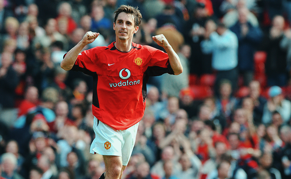 Garry Neville - huyền thoại Manchester United