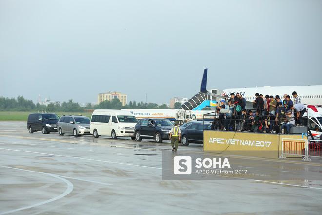 Chuyên cơ Kremlin bay IL-96-300PU đưa tổng thống Nga Putin tới Đà Nẵng dự APEC - Ảnh 1.