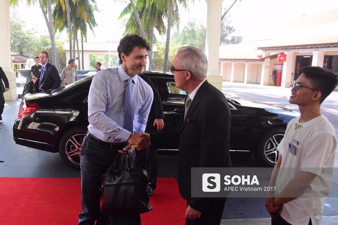 Thủ tướng Canada Justin Trudeau có mặt tại APEC 2017.